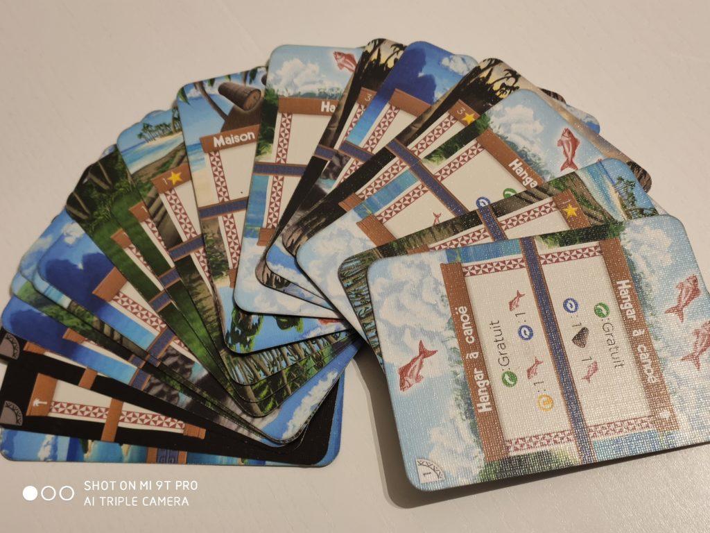 Ensemble des cartes de Palm Island pour vos parties