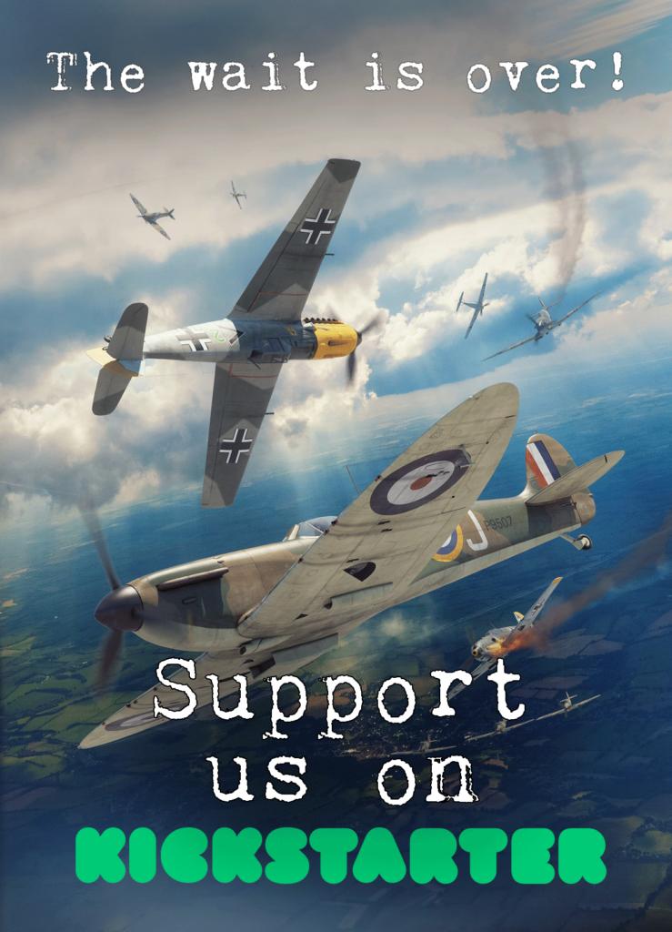 Affiche Kickstarter 303 Squadron