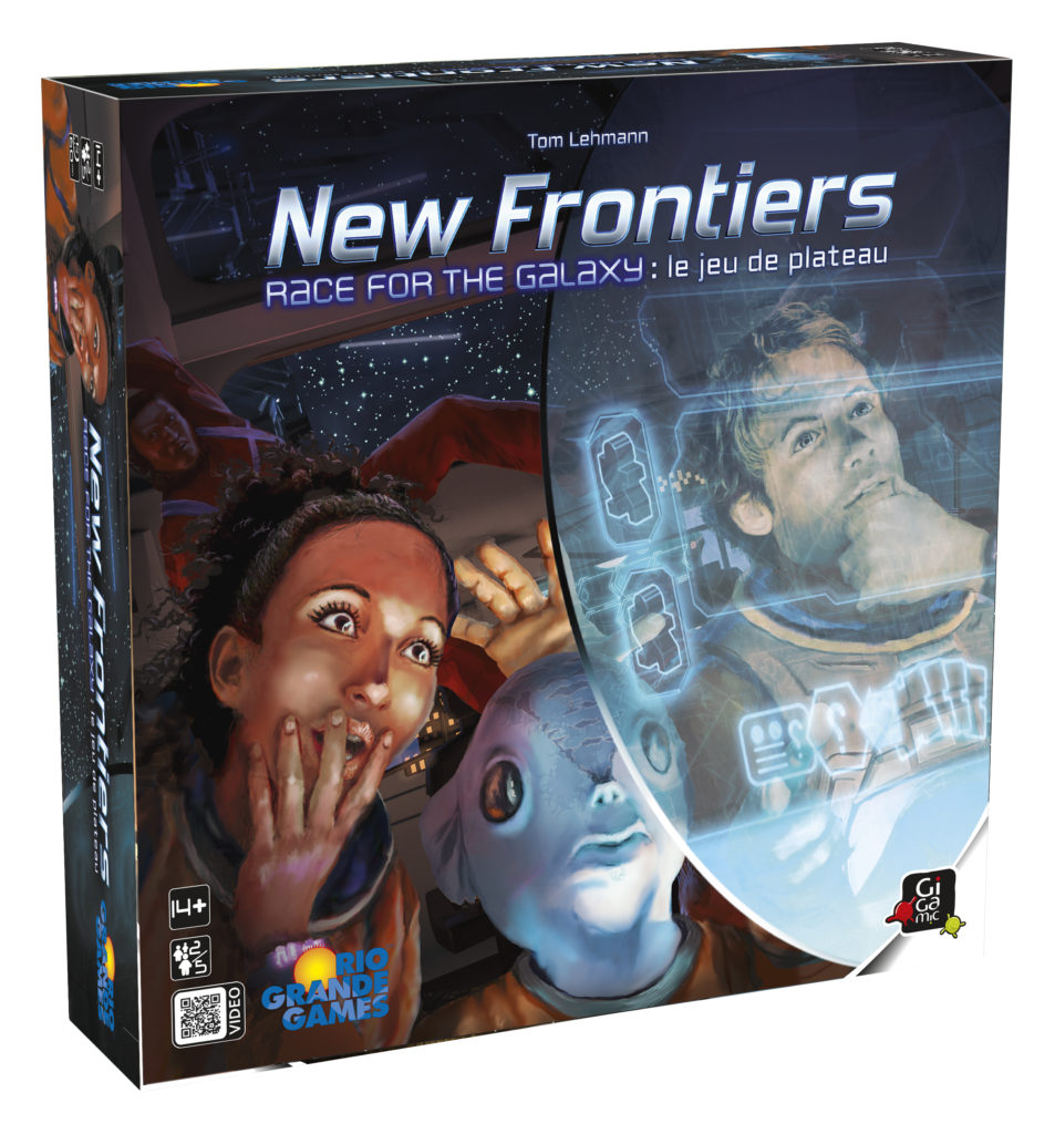 Boîte de New Frontiers, Race For The Galaxy