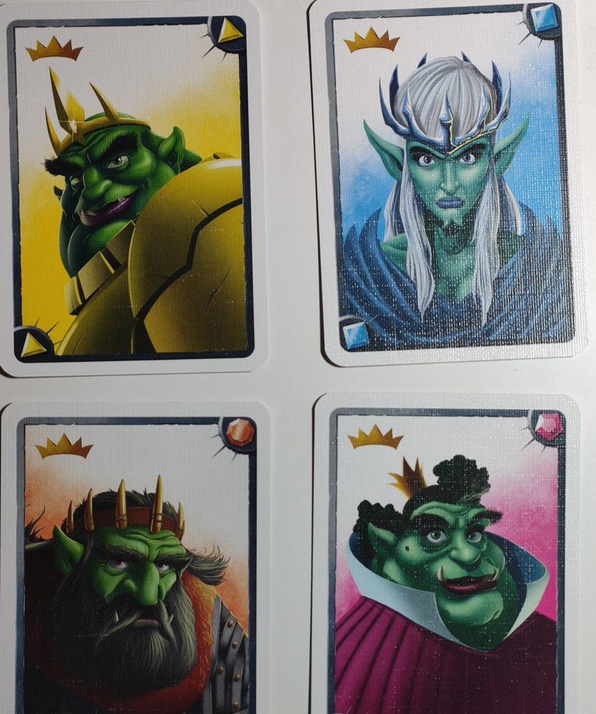 Cartes de Roi/Reine