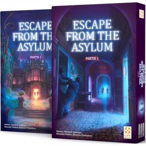 Boîtes d'Escape from the Asylum