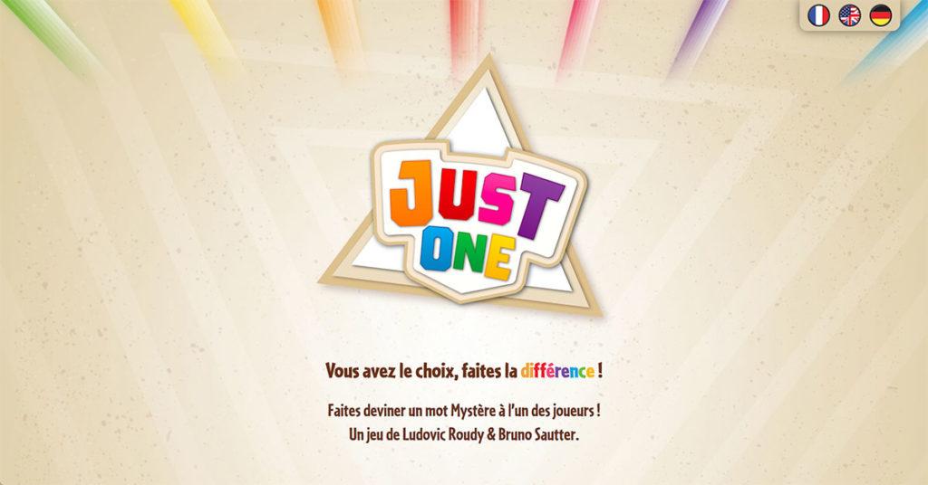 Logo de Just One
