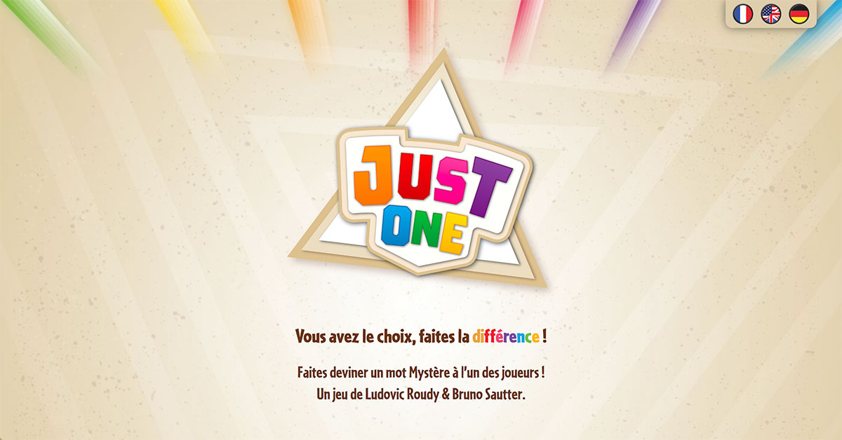 Logo de Just One