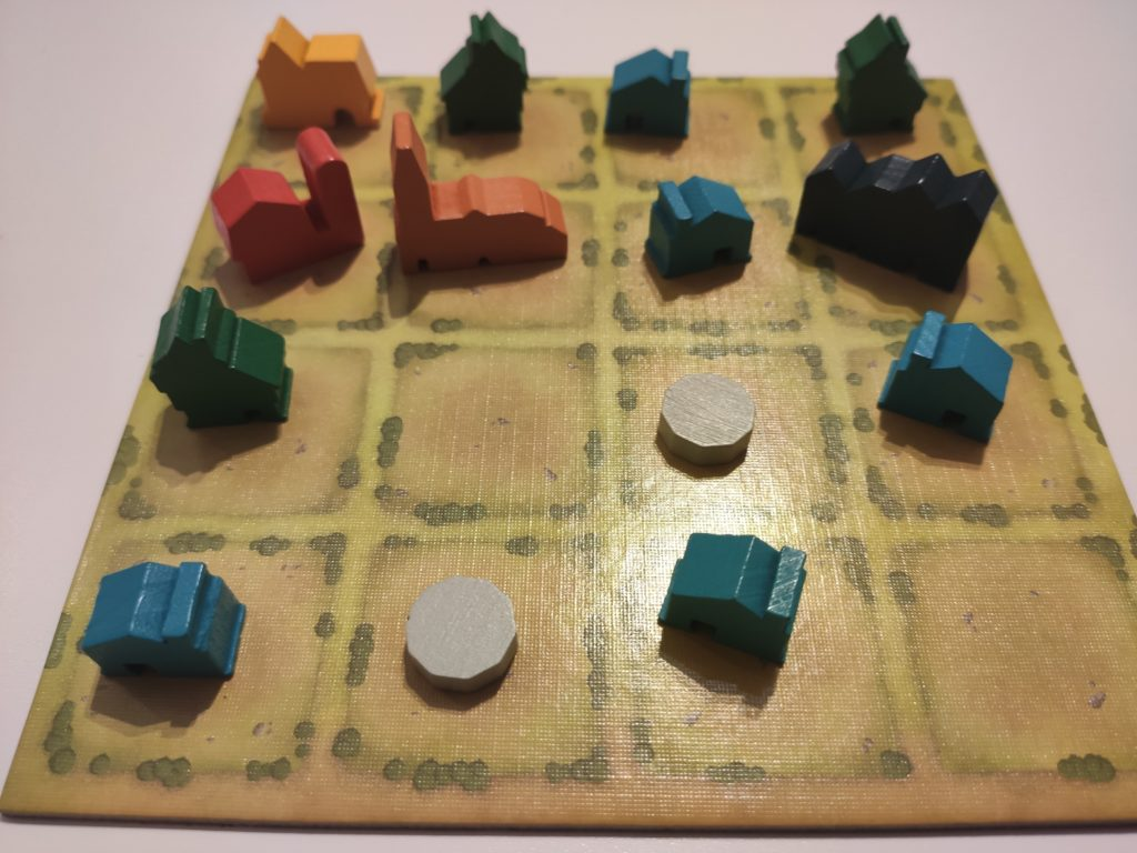 Une petite bourgade bien construite !