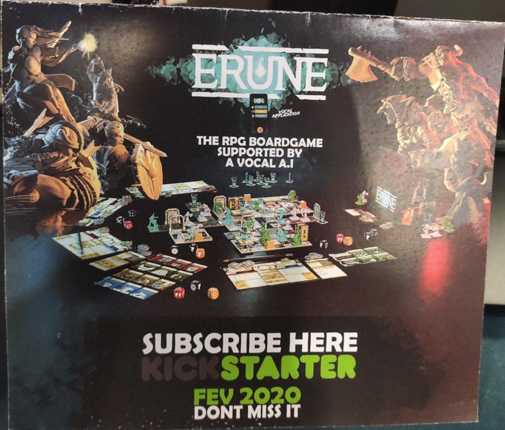 Campagne Kickstarter d'Erune
