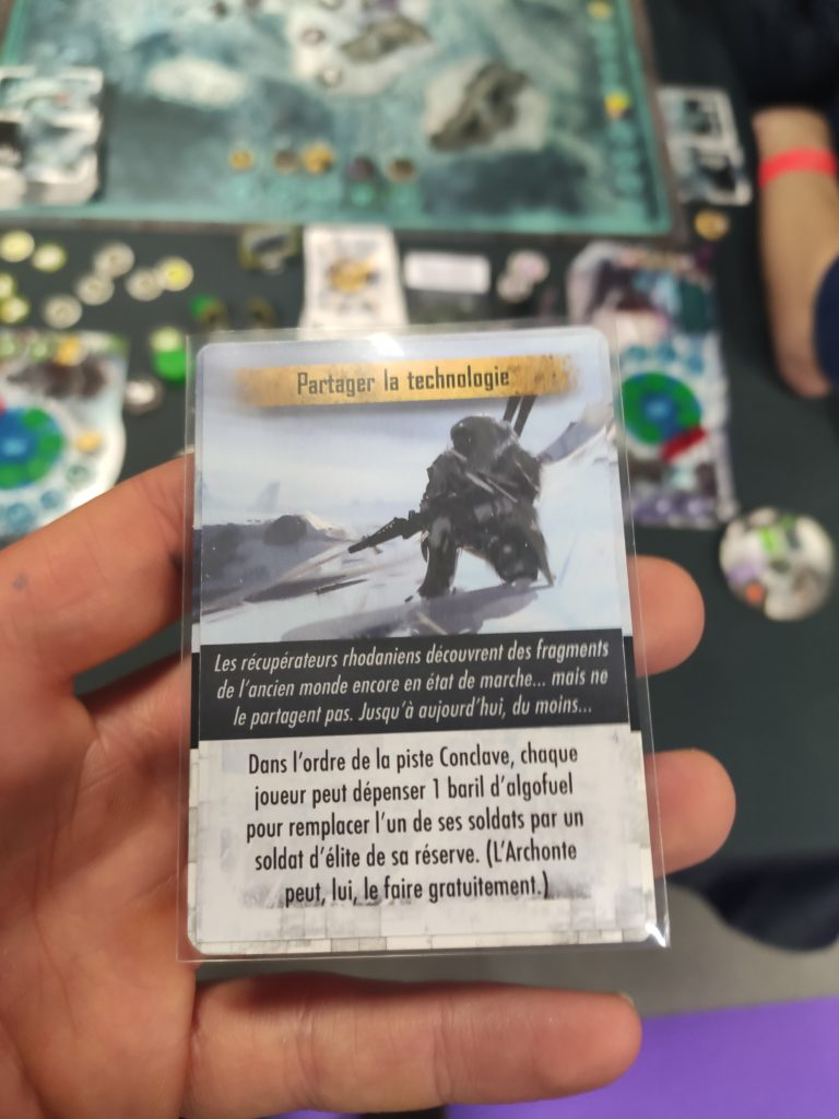 Cartes d'événements de Steamwatchers
