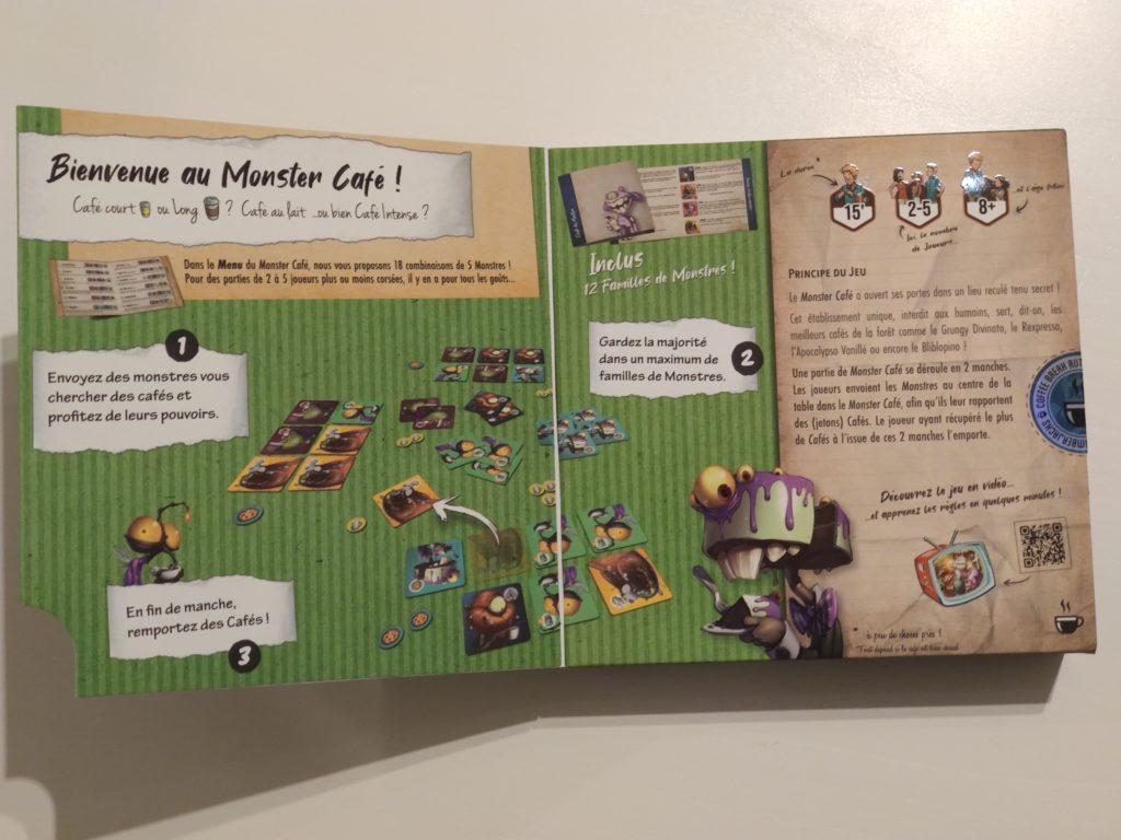 Boîte de Monster Café