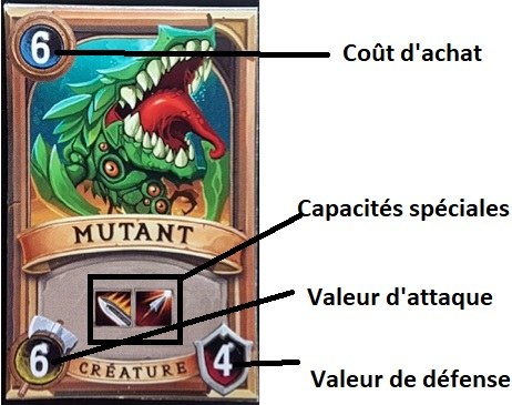 Cartes de Clash of Deck