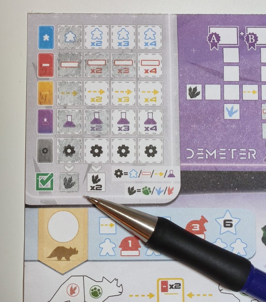 Bloc Note Demeter