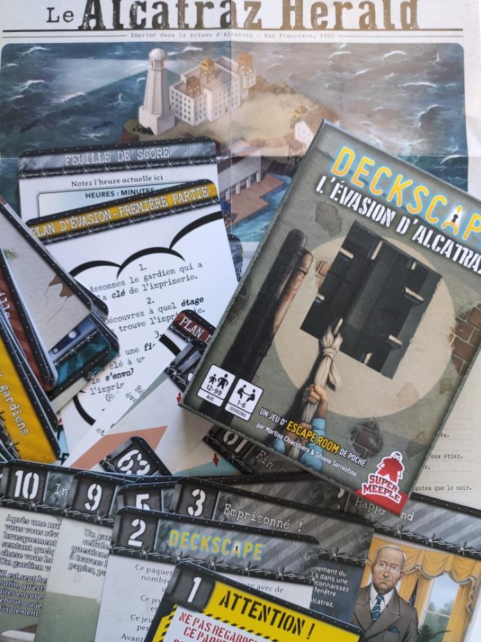 Deckscape, L'évasion d'Alcatraz