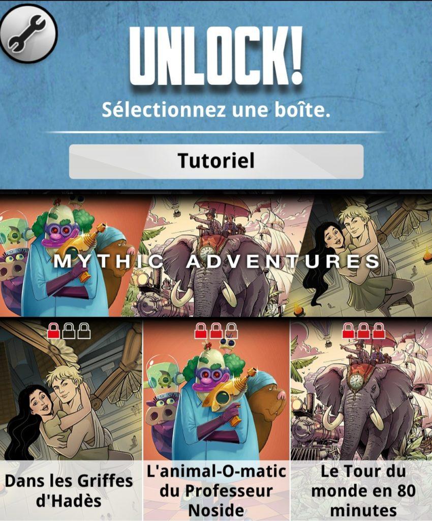 Unlock Mythic Adventures